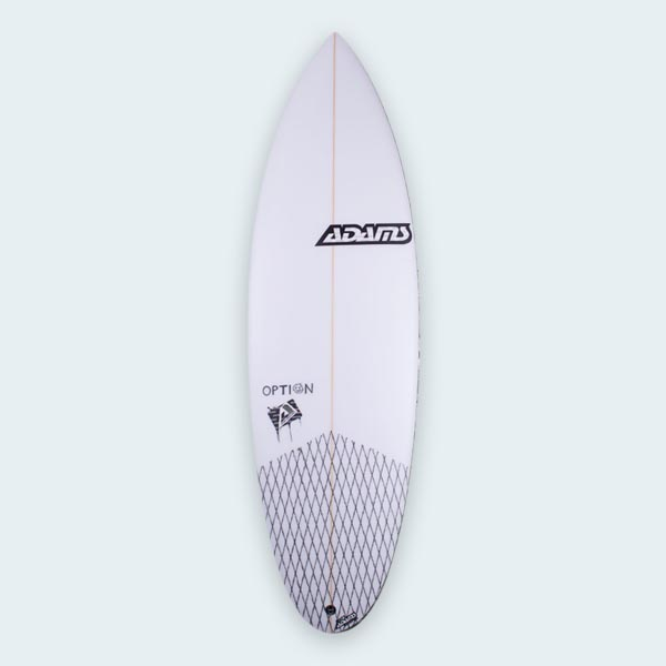 Adams Option 5/8ft Surfboard