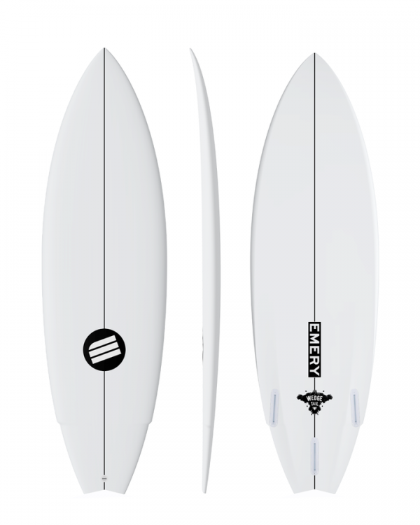 Emery Wedge Tail 5/8ft Surfboard