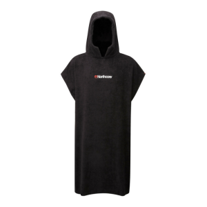 Northcore Beach Basha Changing Robe - Black