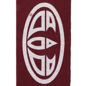 Animal Beach Towel Merlot Red